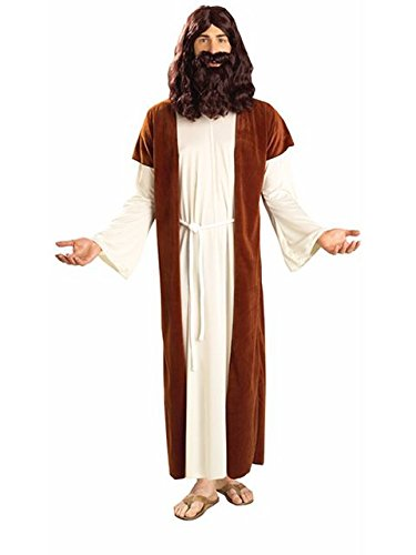 (Forum Novelties Men's Biblical Times Jesus Costume, Multi, One)