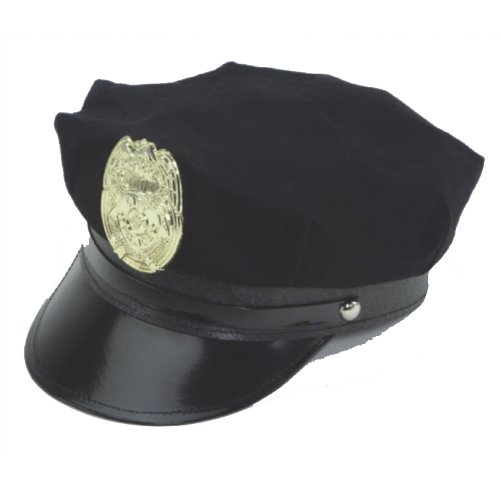 Jacobson Hat Company Police Hat with Bright...