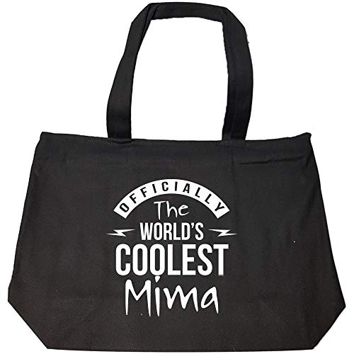 Mima Gifts from grandson granddaughter - Fashion Zip Tote Bag