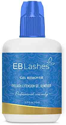 EB Lashes GEL REMOVER For Professional Eyelash Extension Glue Removal Fast Action Dissolves Even The Strongest False Lash Adhesive In 60 Seconds 15 ml