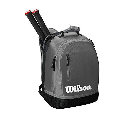 (Wilson Team Backpack, Grey/Black)