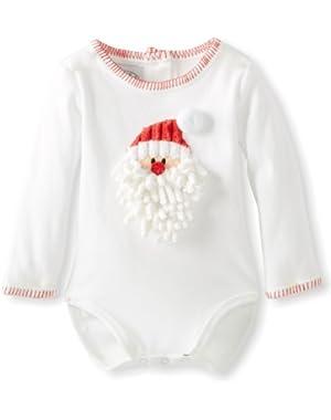 Unisex-Baby Newborn Santa Crawler