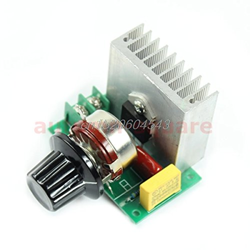 UTP AC 220V 3800W SCR Voltage Regulator Dimming Dimmers Speed Controller Thermostat R02 Drop ship