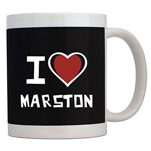 Fuuny Coffee Mugs I love Marston Mug