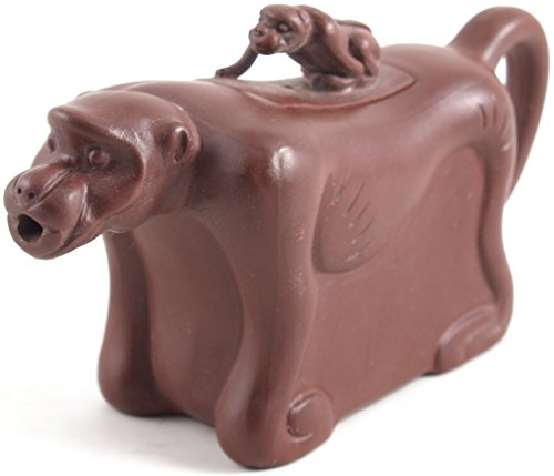 Yixing Clay Monkey Teapot for One 5 Ounce