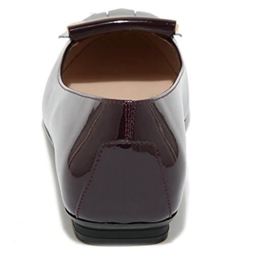 ballerina 0455O scarpe donna shoes lampone lampone GOMMA women TOD'S FRANGIA gqrXxFwqd