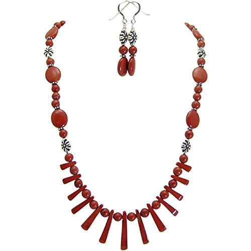 Castle Valley Red Jasper Jewelry Set