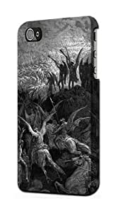 S1026 Gustave Dore Paradise Lost Case Cover For IPHONE 5 5S