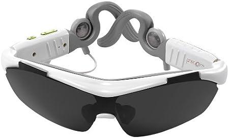 PRECORN Smart Gafas de sol deporte Alta Calidad Stereo Bluetooth auriculares tecnologia Touch blanco