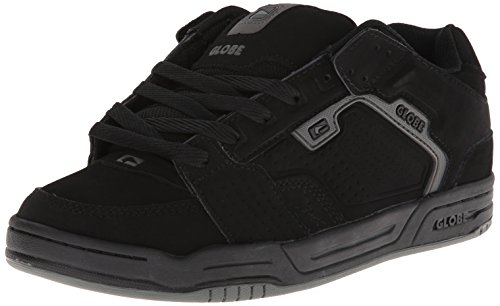 Globe Men's Scribe Skateboard Lifestyle Shoe,Black/Grey,8.5 M US (Womens Shoes Globe)
