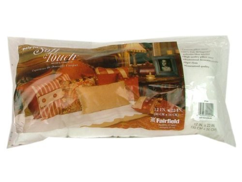 Fairfield Soft Touch Pillow, 12 by 22-Inch