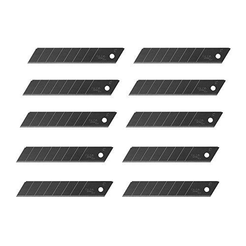 olfa-lbb-10-18mm-heavy-duty-refill-blade-black-ultra-sharp-sna-off-blades-10ea1pack