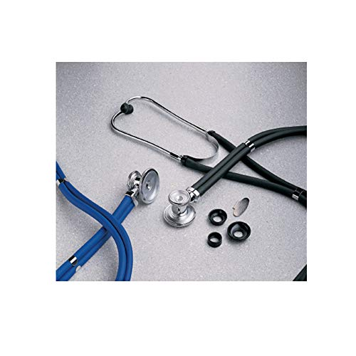 Sprague - Rappaport Stethoscope McKesson LUMEON 01-641TLGM Teal 2-Tube 22 Inch Tube Double Sided Chestpiece. 1 each