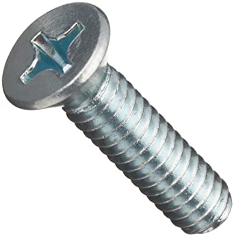 Small Parts B000MN6TRI Phillips Drive 1-1//4 Length 1//4-20 Threads Steel Machine Screw Pack of 100 Zinc Plated Finish 1-1//4 Length Pack of 100 Flat Head 1//4-20 Threads