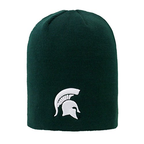 - Top of the World NCAA Classic Knit Beanie Hat-Michigan State Spartans