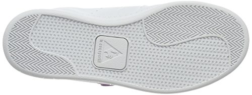 Le Coq Sportif Courtone Ps Lenticular, Unisex-Kinder Sneakers Weiß (optical White)