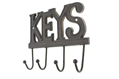 Key Holder Keys Wall Mounted Key Hook Rustic Western
