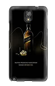 Galaxy Skin Case Cover For Galaxy Note 3 Popular Johnnie Walker Logo Phone Case