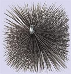 Chimney 23123 Square Flue Brush - 9 Inches