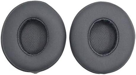 H HILABEE Beats Solo 2ワイヤレスヘッドセット用交換用メモリフォームヘッドフォンイヤーパッドクッションカバー