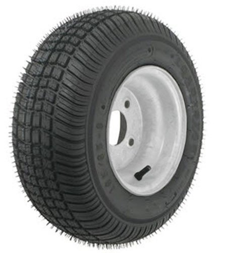 American Tire 3H292 Zzzz-Zzzz Zzzz Zzzz 215/60-8 T&W (C) 4 Hole Silver E-Coat