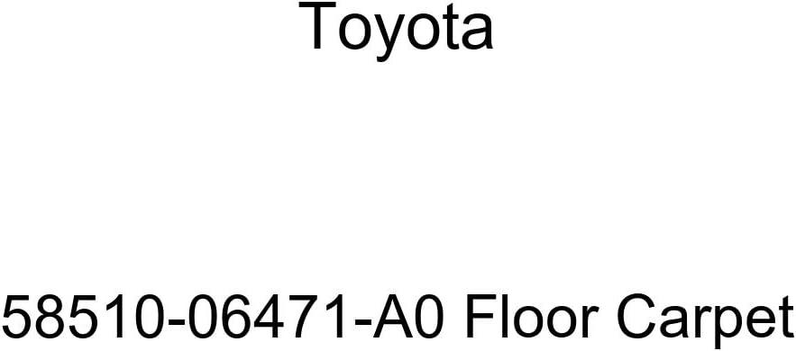 TOYOTA Genuine 58510-06471-A0 Floor Carpet