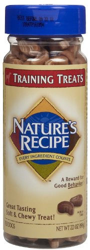 Nature's Recipe Training Treats – Large – 7 oz, My Pet Supplies