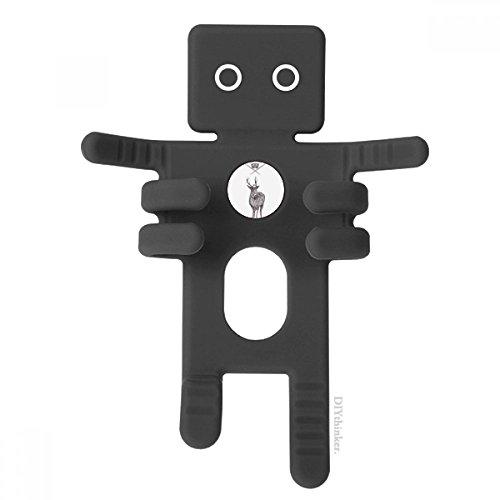 Elk Sword Crown Animal Baroque Style Black Phone Mount Car Dashboard Holder for Cell Phone Gift Elk Sword