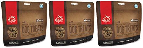 Orijen 3 Pack of Freeze Dried Angus Beef Dog Treats, 3.25 Ounces Per Pack
