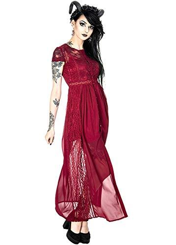 Para Restyle Mujer Vestido Restyle Rosso Vestido YzxZznt