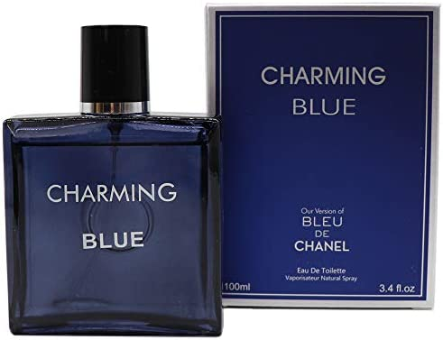 3e377fef41f CHETEAU BLUE, Inspired of BLEU DE CHANEL, Eau De Toilette Spray for Men,  for all Skin Types, Aromatic, Daytime and Casual Use, A CLassic Bottle, ...