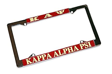 Amazon.com: Express Design Group Kappa Alpha Psi Metal License Plate ...