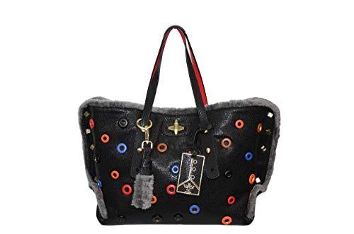 Hpo Nero Collezione Manico Regolabile Multicolore Borchie Bag Borsa Anastasia Twist 2019 4IBqdI