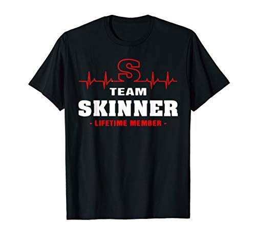 Skinner Shirt - Team Skinner lifetime member shirt surname, last name gift