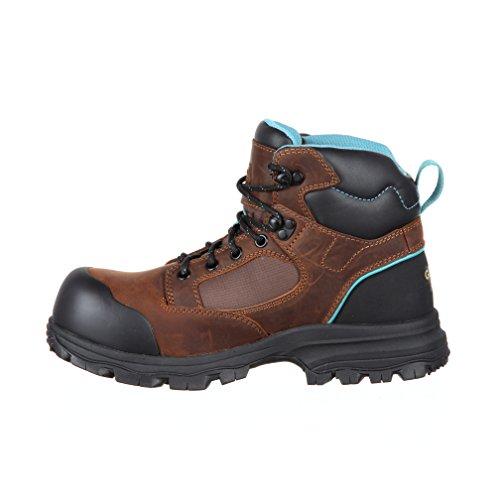 Work Collar Composite Waterproof Boot Women's Toe GB00158 Georgia Boot Blue STBwAa