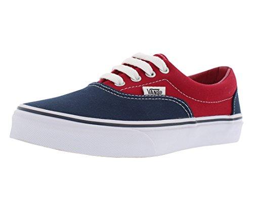 Vans Era Casual Kid's Shoes 11 Red/Blue ()