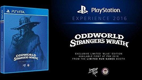 Oddworld: Stranger's Wrath HD - Vita Blue PSX Variant (Limited Run #29)