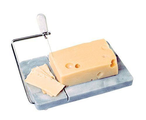NORPRO 349 Marble Board with Cheese Slicer and Extra Wires -