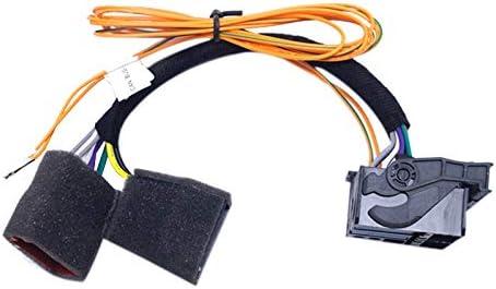 Iycorish 自動車Cnbusアダプターのケーブル、コンバーターのワイヤーIso、Voswgen Cd プレーヤー Rns510 Rcd310 Rcd510 Rns315#1733用