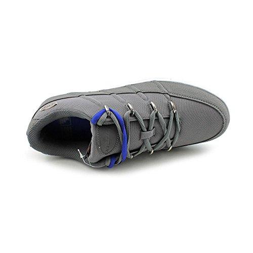 Lugz Mens Pronto Lo Sneaker Charbon De Bois / Blanc / Bleu Royal