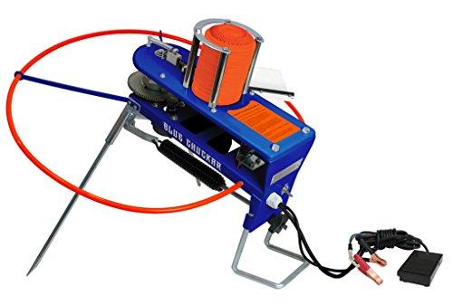 Gunpowder Gear Blue Chukar Auto Skeet Thrower Trap with 10