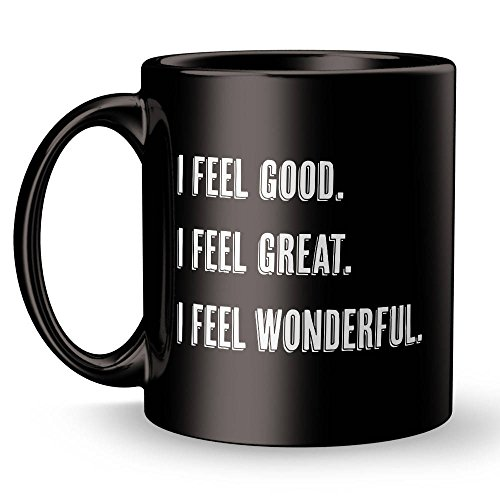 LIZNICE - What About Bob Mug / Bill Murray Quote / Good Great Wonderful / Gift Mug / Gift for Him / Gift for Her / Movie Quote Mug / Movie Coffee Mug, MUG 15oz