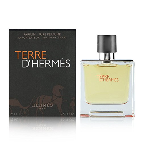 Terre D' Hermes By Hermes For Men. Parfum Spray 2.5 Oz / 75 Ml Cologne Spray Men Fragrance