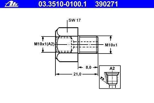 ATE 03.3510-0100.1 Adapter Bremsleitung