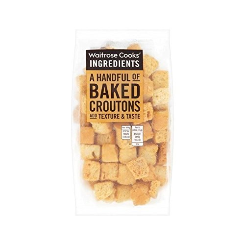 Cooks' Ingredients Croutons Waitrose 100g - Pack of 6