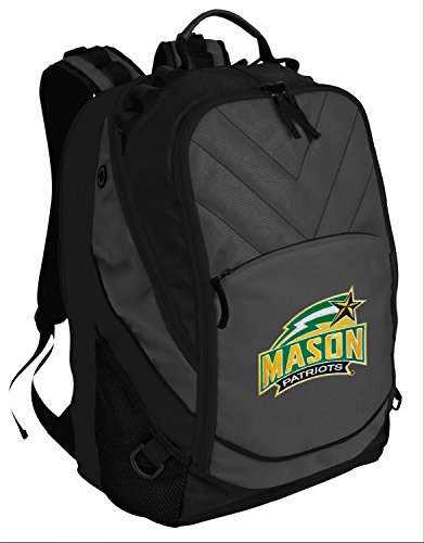 Broad Bay Best George Mason University Backpack Laptop Computer Bag