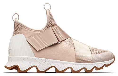 Sorel - Women's Kinetic Sneak Casual Mesh Sneakers, Natural Tan, 10.5 M US