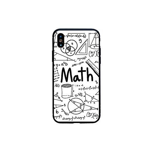 Symbol Math Science Physics Formulas Soft Case for iPhone 6 6S Plus 5S Se 7 8 Plus X Xs Max Xr Phone Cover,B Soft W Math,for 6Plus Or 6S Plus ()