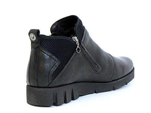 Softwaves Boots black Women schwarz 14 94 Ankle 6 rqBWr4n