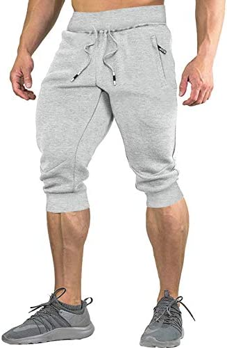 [スポンサー プロダクト]TACVASEN アウトド アカジュアル イージーパンツ 7分丈 夏服 メンズ 半ズボン ジョギング スリム ゴムウェスト